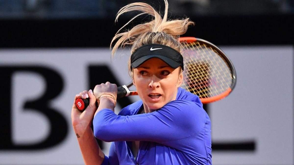 Свитолина одержала волевую победу на турнире WTA в Майами