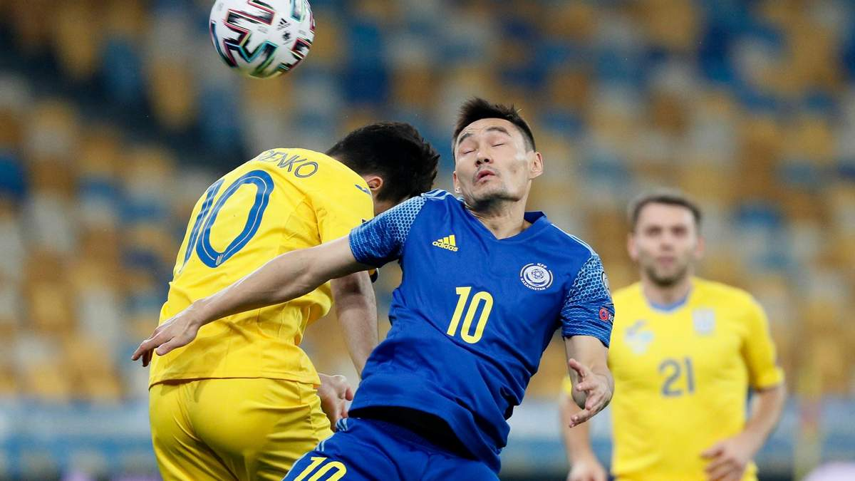 Україна – Казахстан результат і відео голів 31.03.2021, ЧС 2022