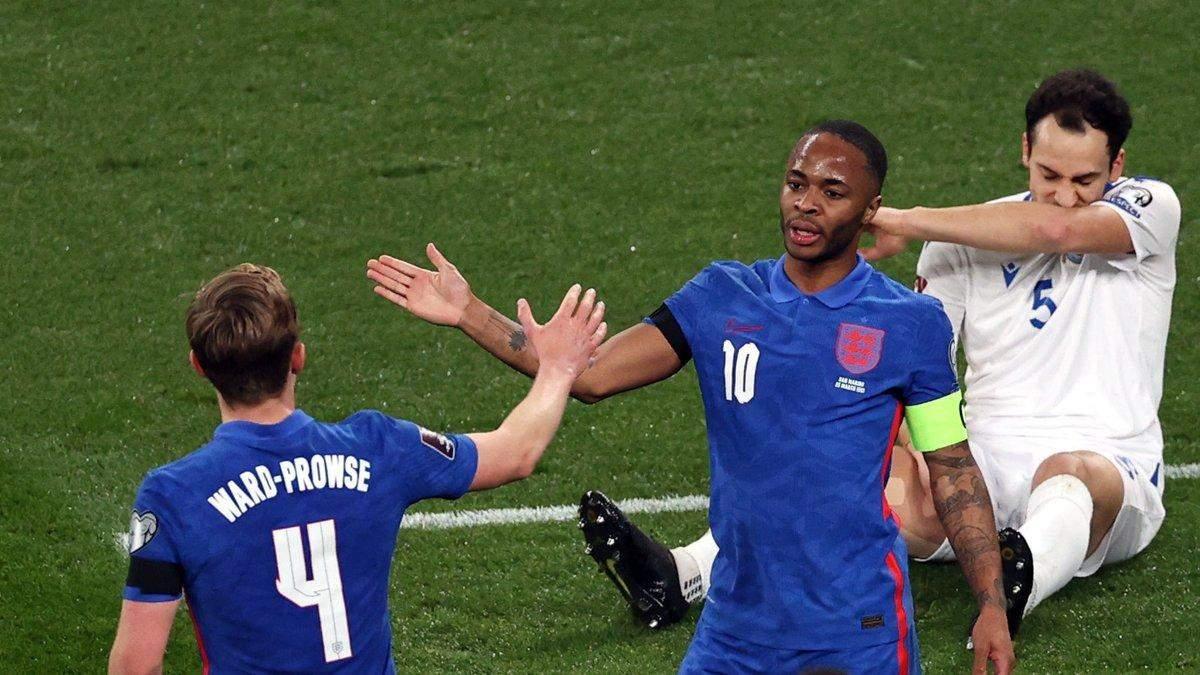 Англия вырвала победу над Польшей в отборе на чемпионат мира: видео