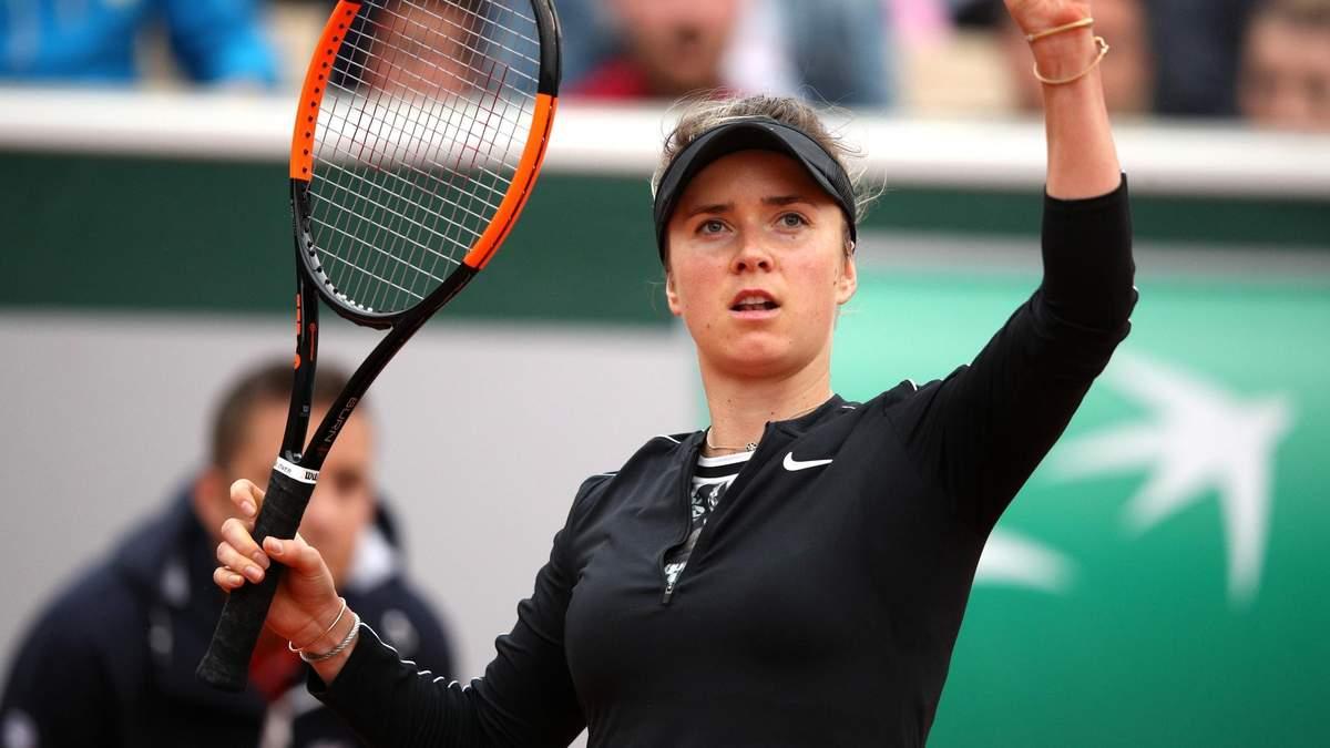 Свитолина в тяжелом матче одолела Квитову на пути в четвертьфинал турнира в Майами