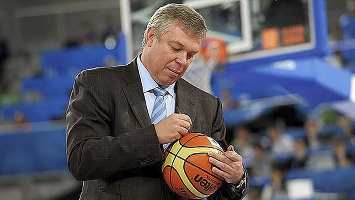 Украинский баскетболист Александр Волков включен в Зал славы ФИБА