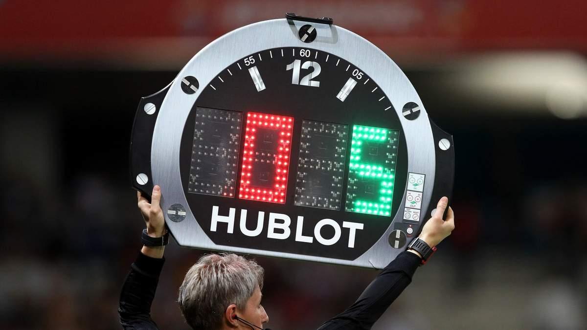 УЄФА збільшив кількість замін на матчах Євро-2020