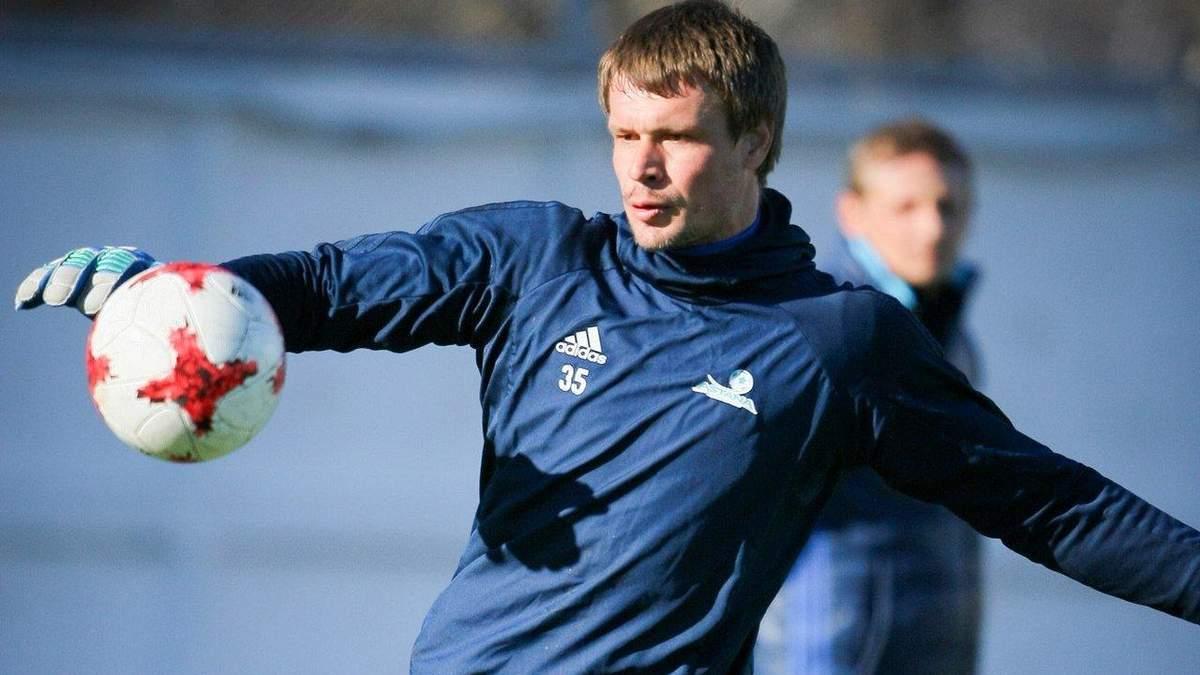 Воротар Казахстану завершив кар'єру в збірній за кілька годин до матчу з Україною