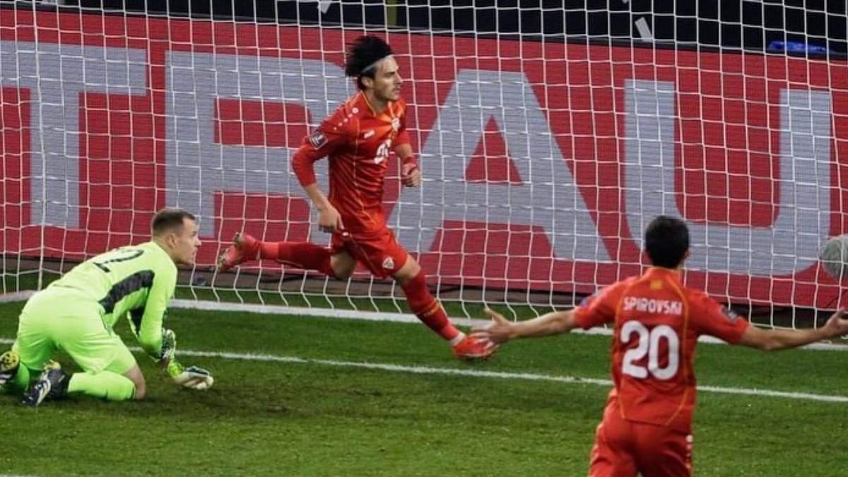 Германия неожиданно проиграла Северной Македонии в отборе на чемпионат мира: видео