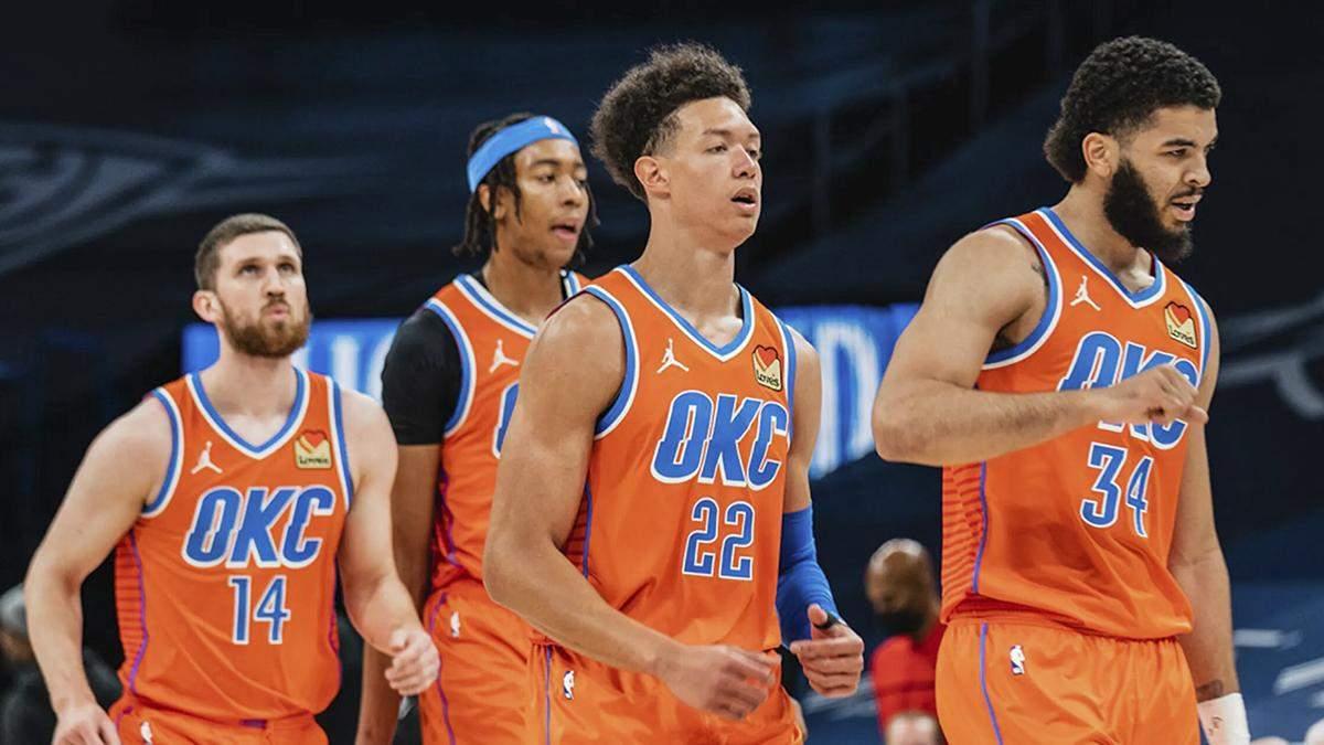 Финикс - Оклахома-Сити: результат матча НБА, видео
