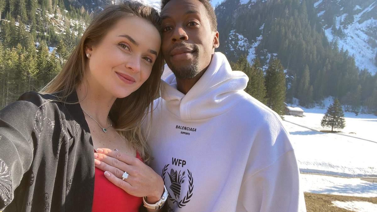 Еліна Світоліна погодилася вийти заміж за Гаеля Монфіса