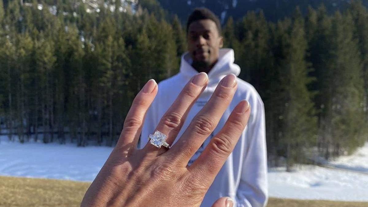 Гаэль Монфис заплатил 700 тысяч евро за кольцо для Элина Свитолиной