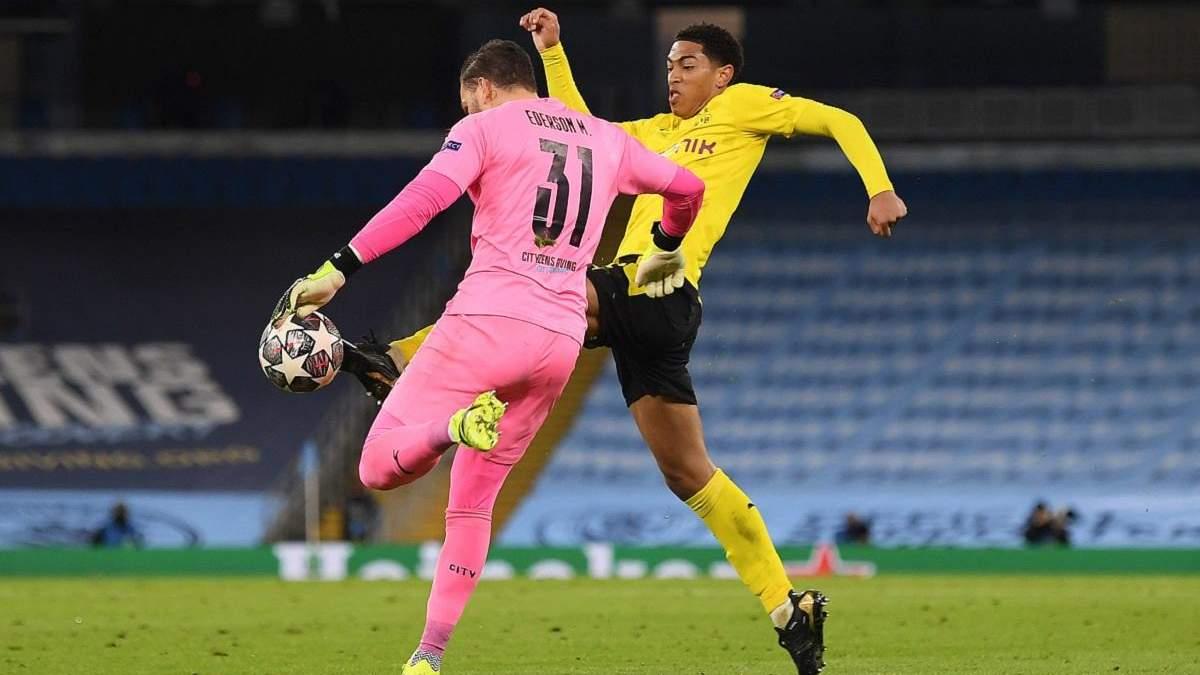 Гравець Боруссії обурений через вкрадений гол у матчі з МанСіті