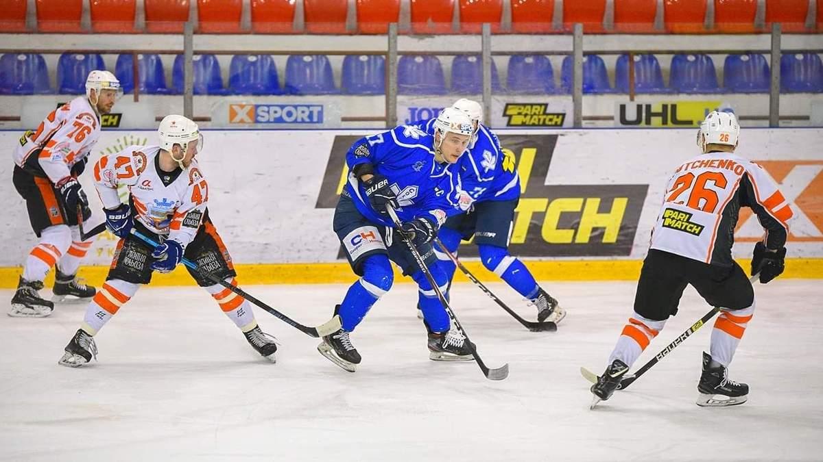 Киевский Сокол обыграл чемпиона УХЛ и вышел в финал плей-офф в свой дебютный сезон