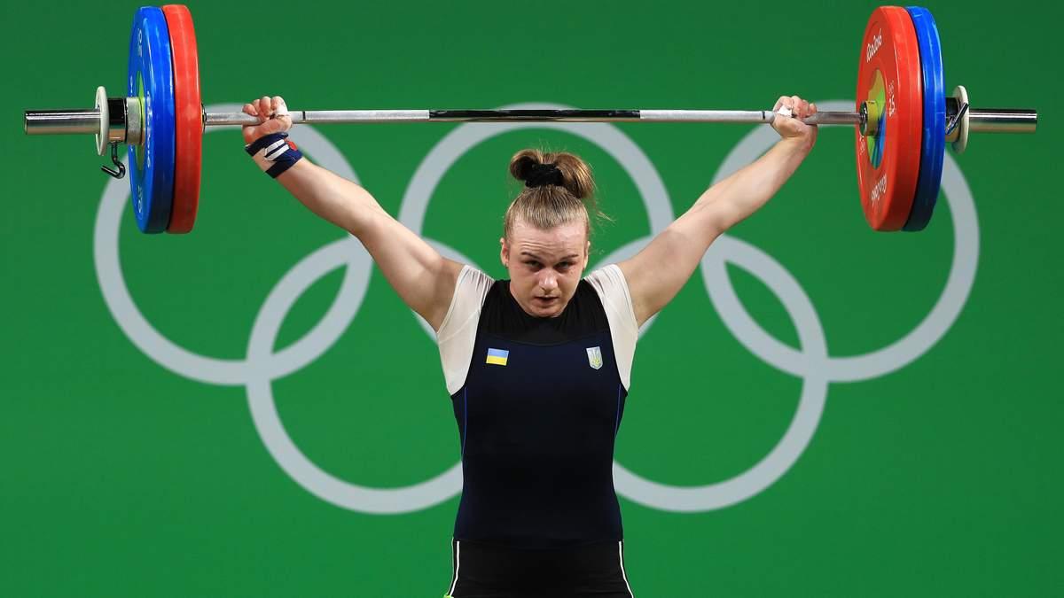 Украинка Деха стала абсолютной чемпионкой Европы по тяжелой атлетике в Москве