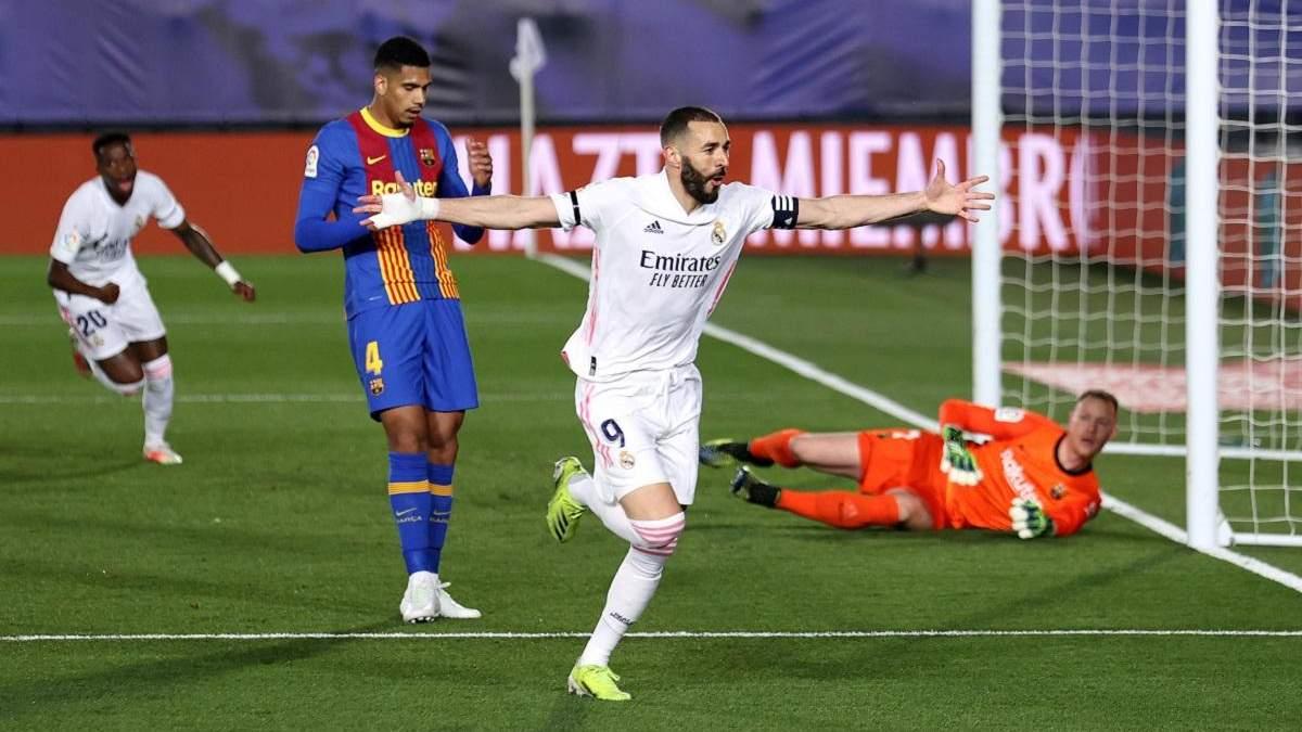 Реал – Барселона результат і відео голів 10 квітня 2021