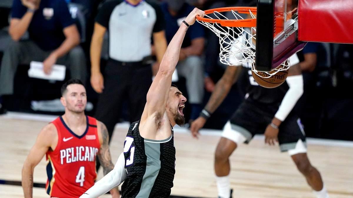 Клубы Леня и Михайлюка не смогли избежать сокрушительных поражений в НБА