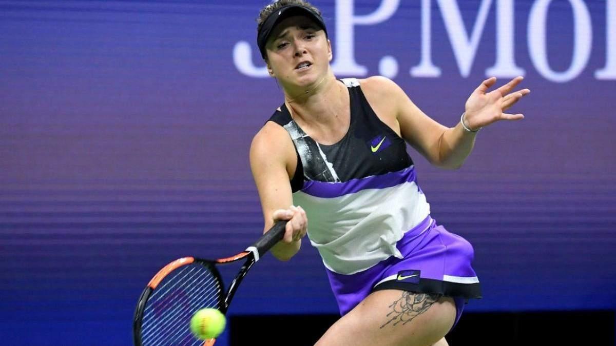 Украинские теннисистки опустились в мировом рейтинге WTA