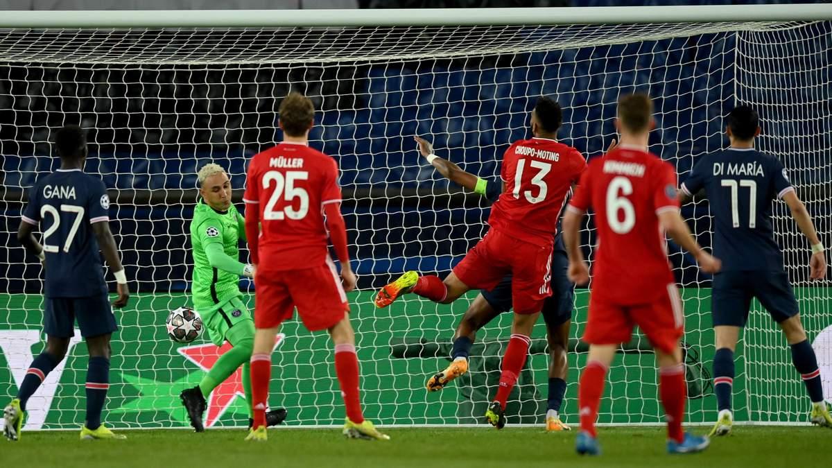 ПСЖ – Баварія результат і відео голів 13 квітня 2021