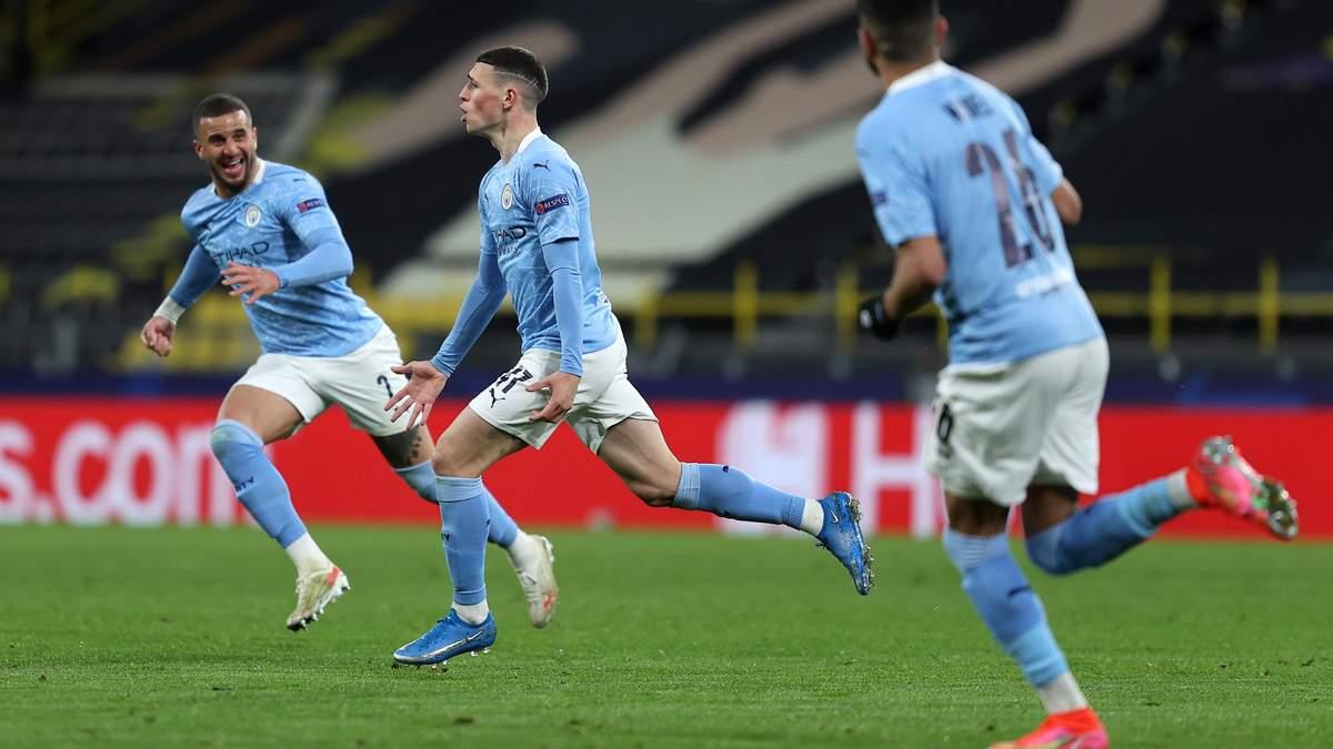Боруссия Д – Манчестер Сити результат и видео голов 13 апреля 2021