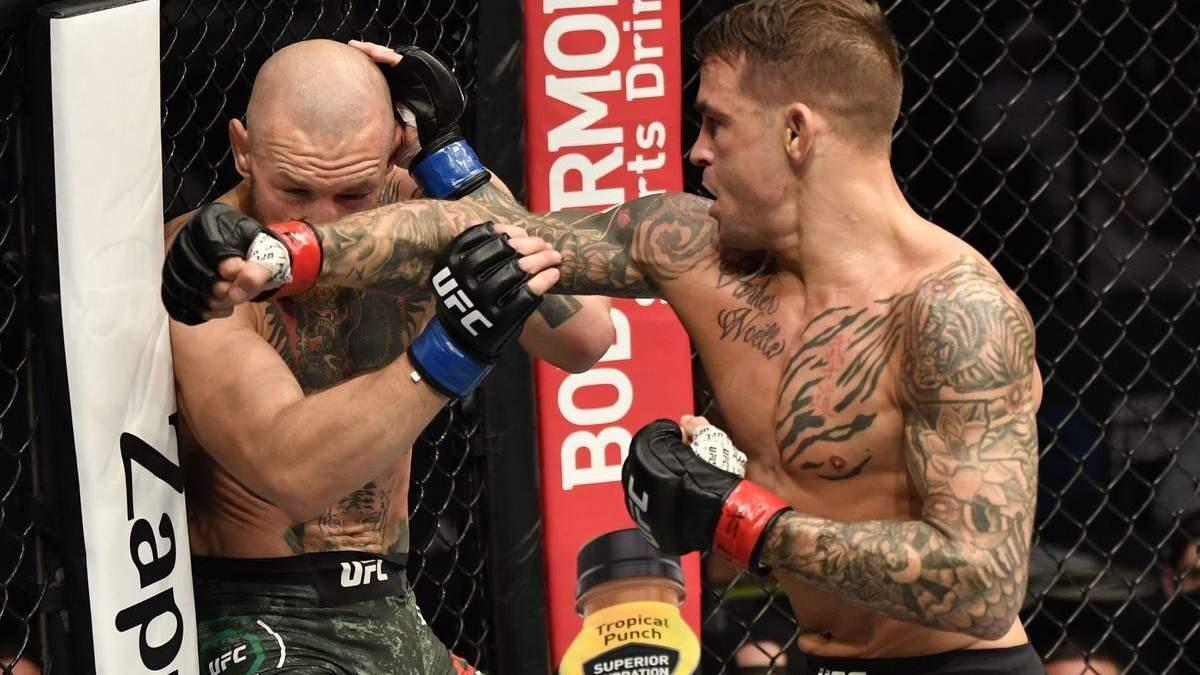 UFC оголосила бій МакГрегор – Пор'є попри заяви бійців