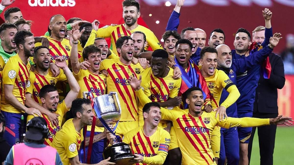 Атлетик – Барселона результат и видео голов 17 апреля 2021