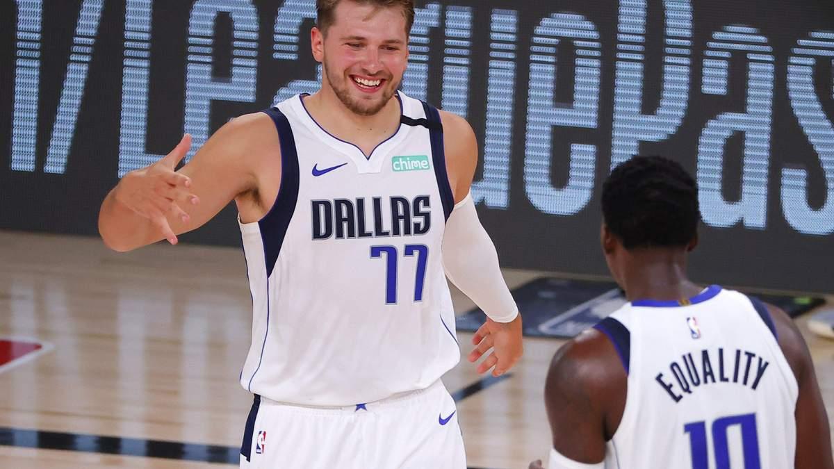 Баскетболіст Далласа Лука Дончич закинув 3-очковий під фінальну сирену: відер