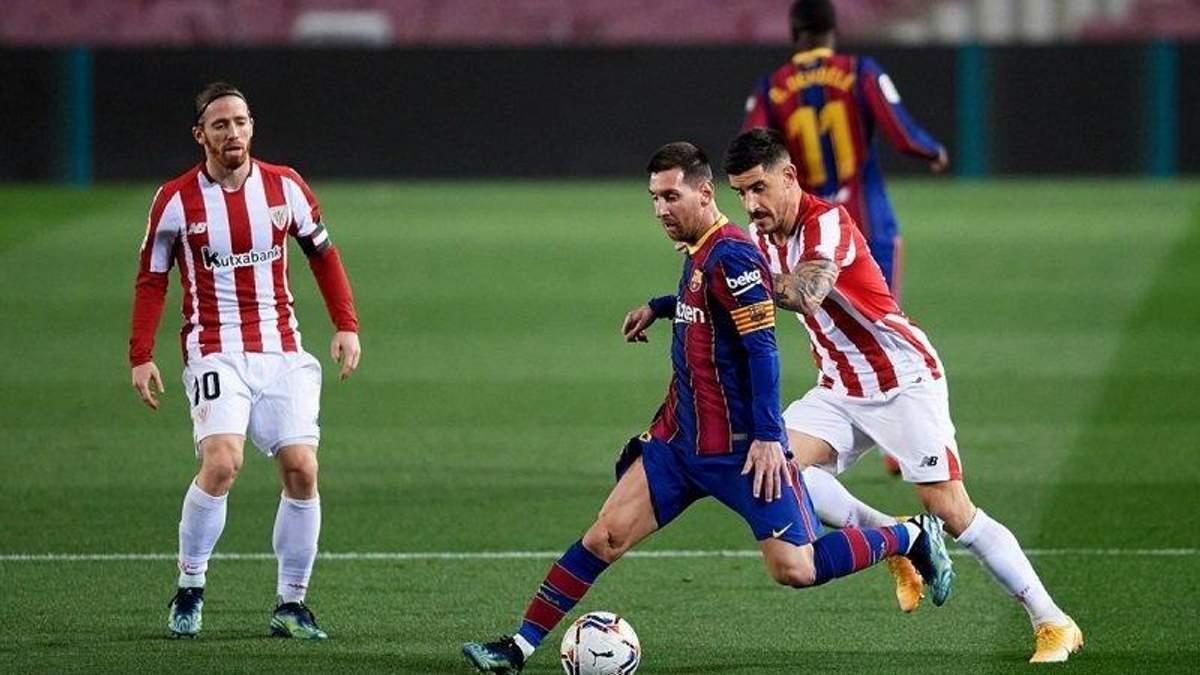 Атлетик – Барселона: где смотреть онлайн финал Кубка Испании