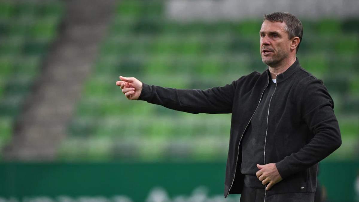 Сергій Ребров втретє поспіль привів Ференцварош до чемпіонства в Угорщині