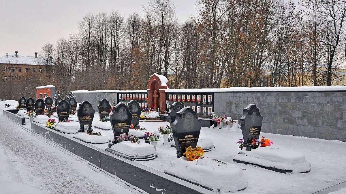 Вандали спалили могилу хокеїста Локомотива - що відомо