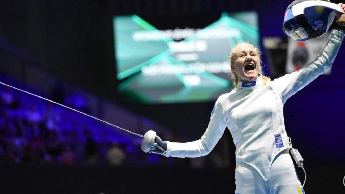 Українка Кривицька здобула єдину ліцензію на Олімпіаду у жіночій шпазі