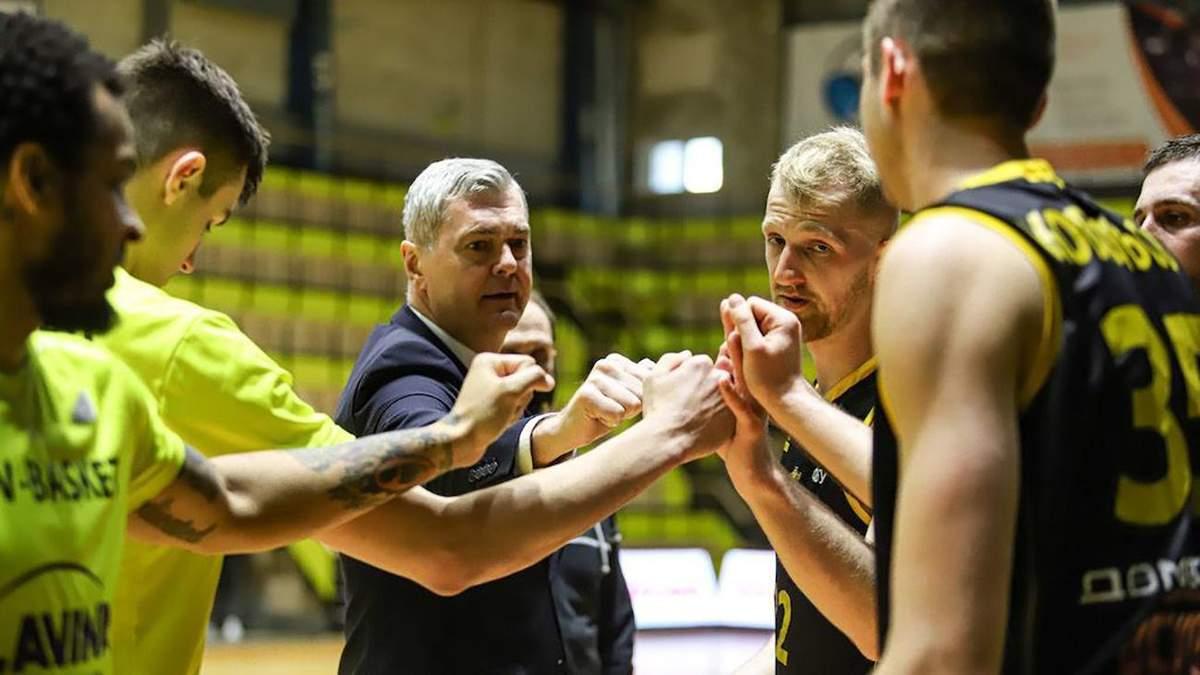 Киев-Баскет досрочно выиграл регулярный чемпионат Суперлиги-2021