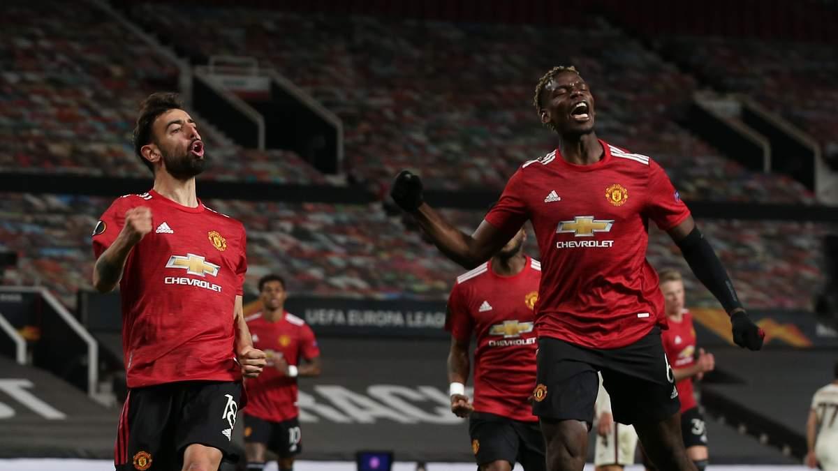 Манчестер Юнайтед – Рома результат и видео голов 29 апреля 2021