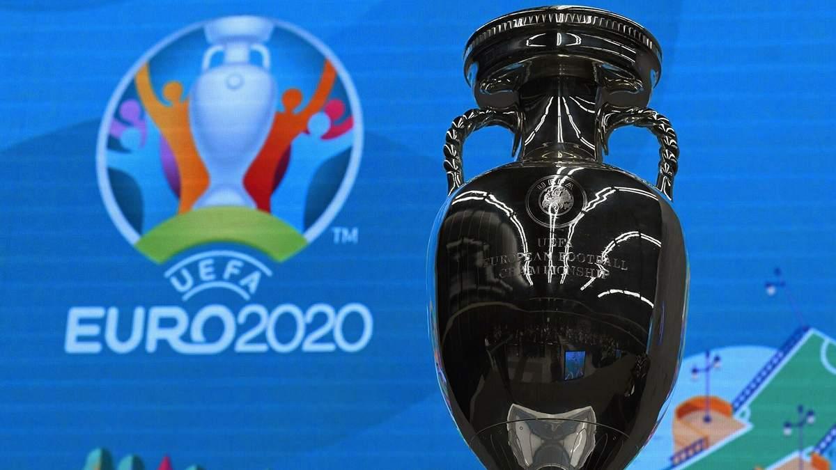 У Румунії ледь не розбили трофей Євро-2020 в прямому ефірі