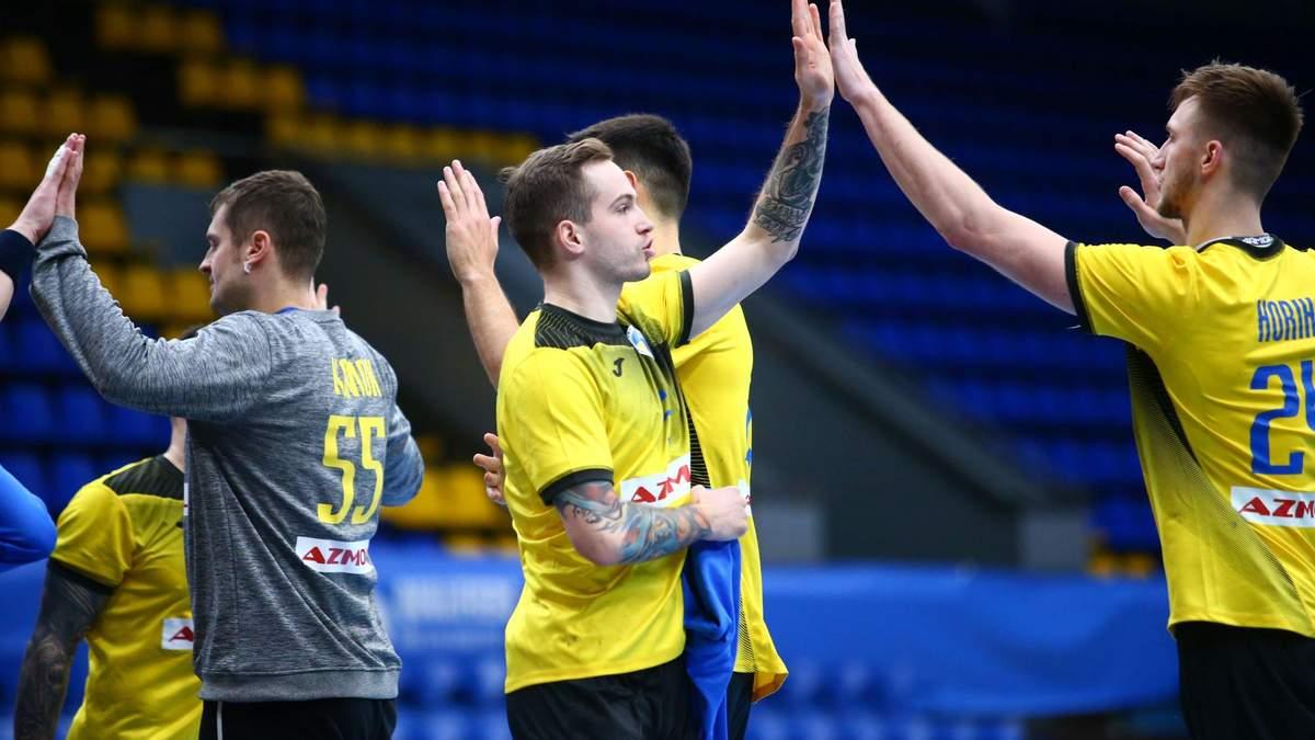 Україна – Чехія результат матчу відбору на гандбольне Євро-2022