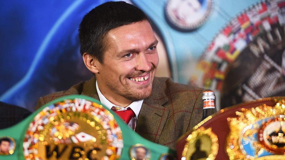 Александр Усик встретится с Энтони Джошуа за титулы WBA, WBO, IBF
