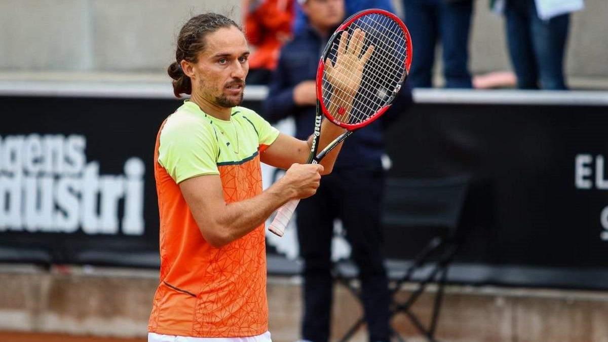 Експерша ракетка України Долгополов офіційно завершив кар'єру