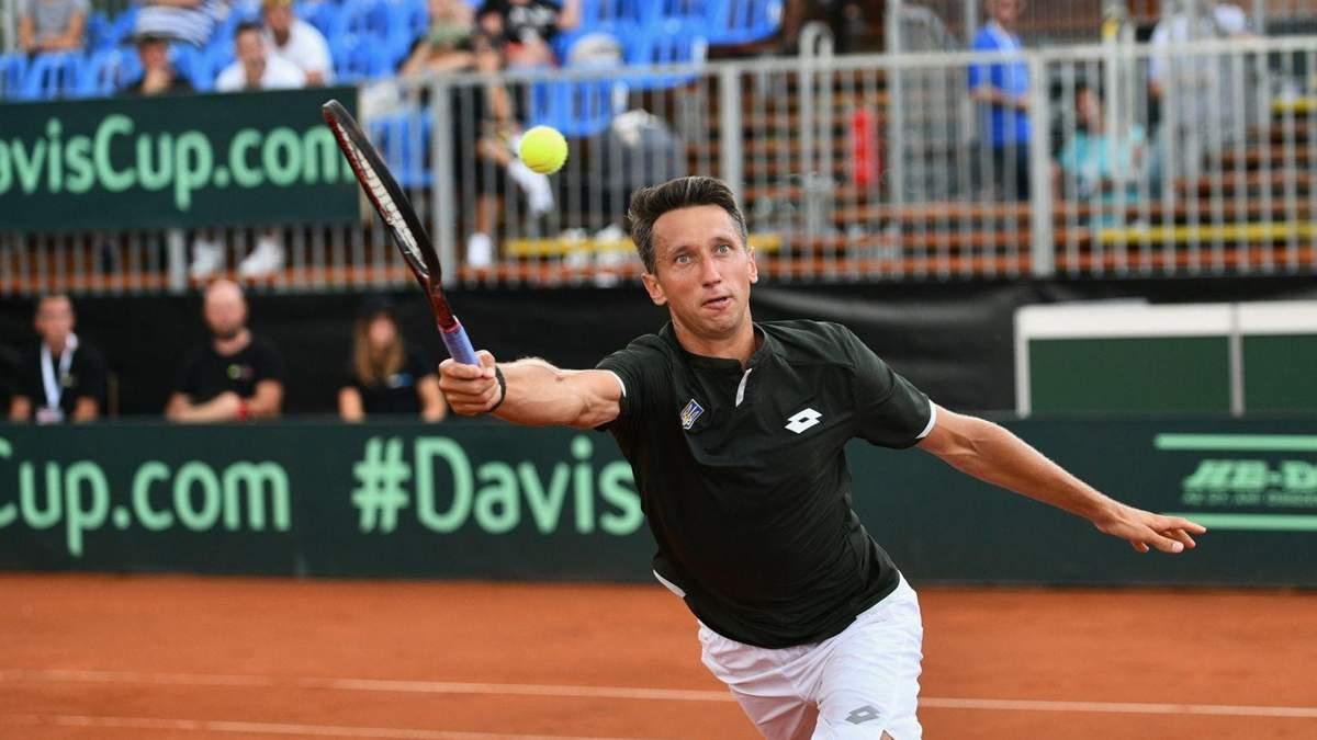 Украинец Стаховский выиграл парный турнир серии ATP в Чехии