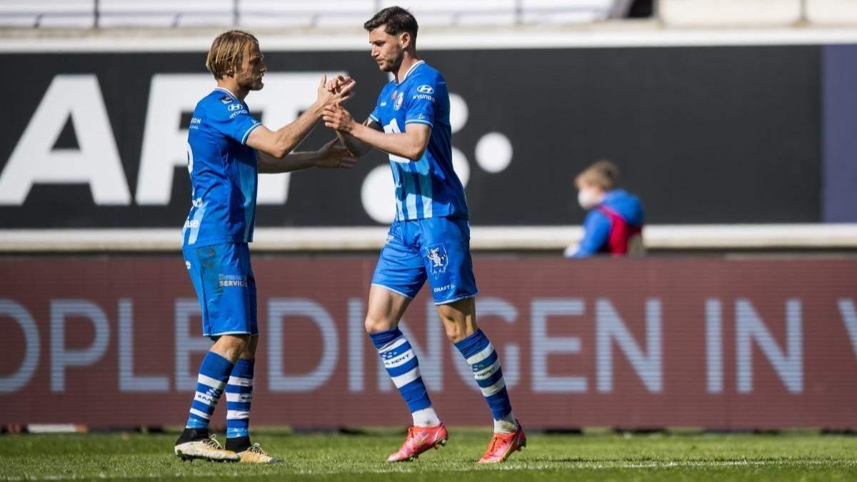 Гол Яремчука та пас Безуса врятували Гент від поразки в матчі чемпіонату Бельгії: відео