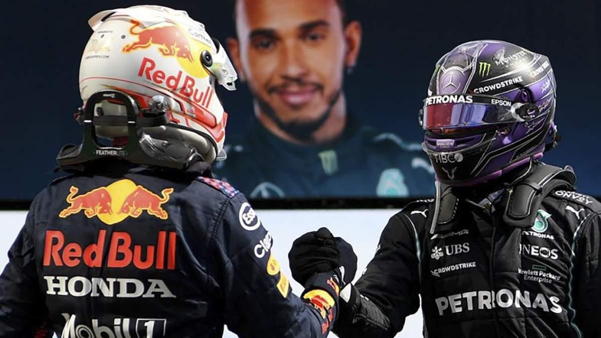 Формула 1 - Кубок конструкторов-2021, зачет пилотов