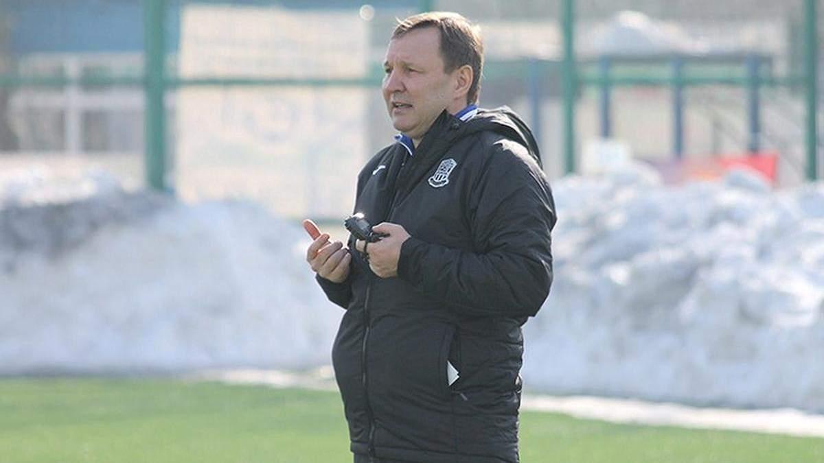 Олімпік офіційно звільнив головного тренера Калітвінцева