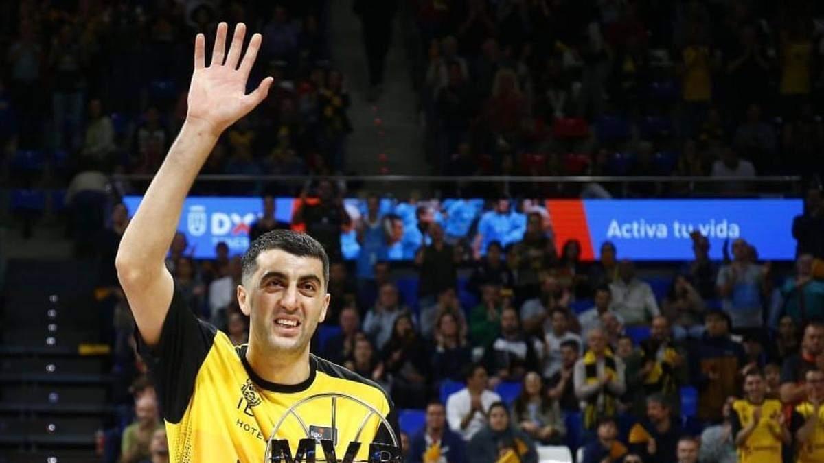 Грузинського баскетболіста не пустили в Росію з командою для участі у фіналі Ліги чемпіонів
