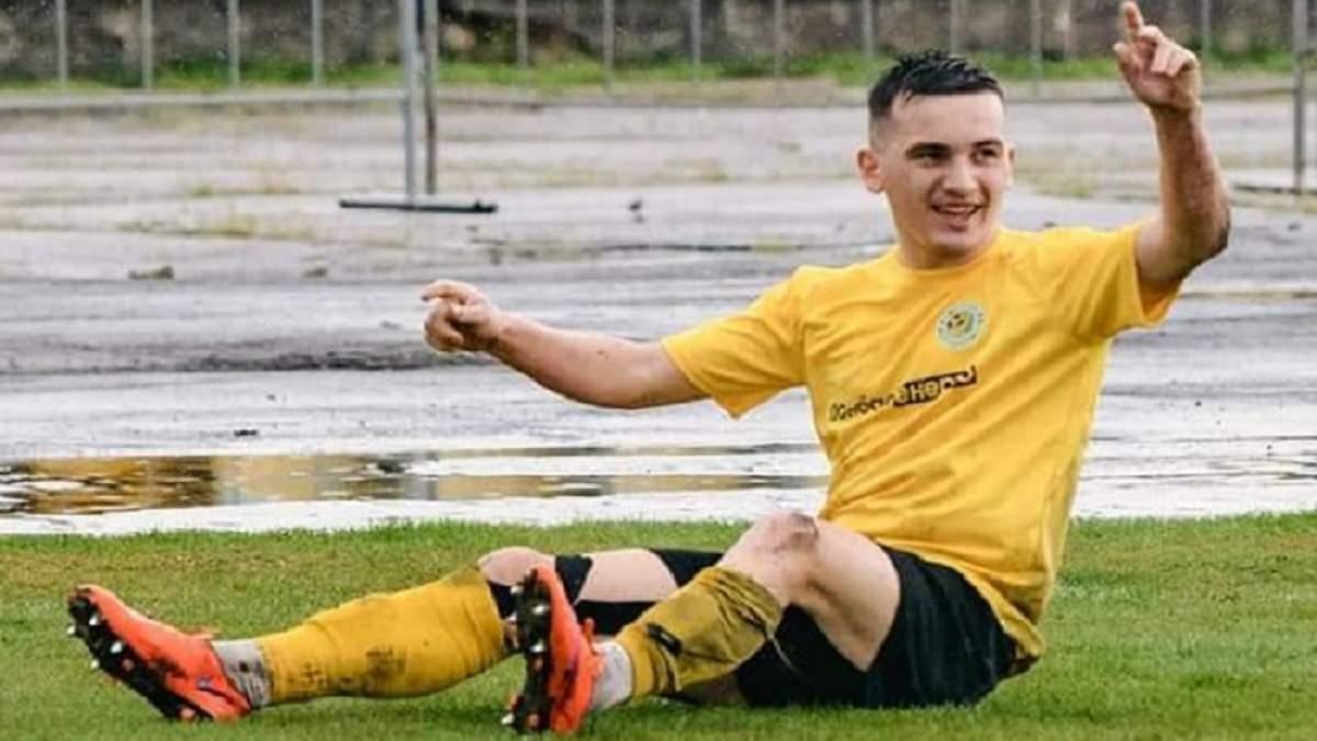 Український футболіст провів матч Першої ліги зі зламаною ногою
