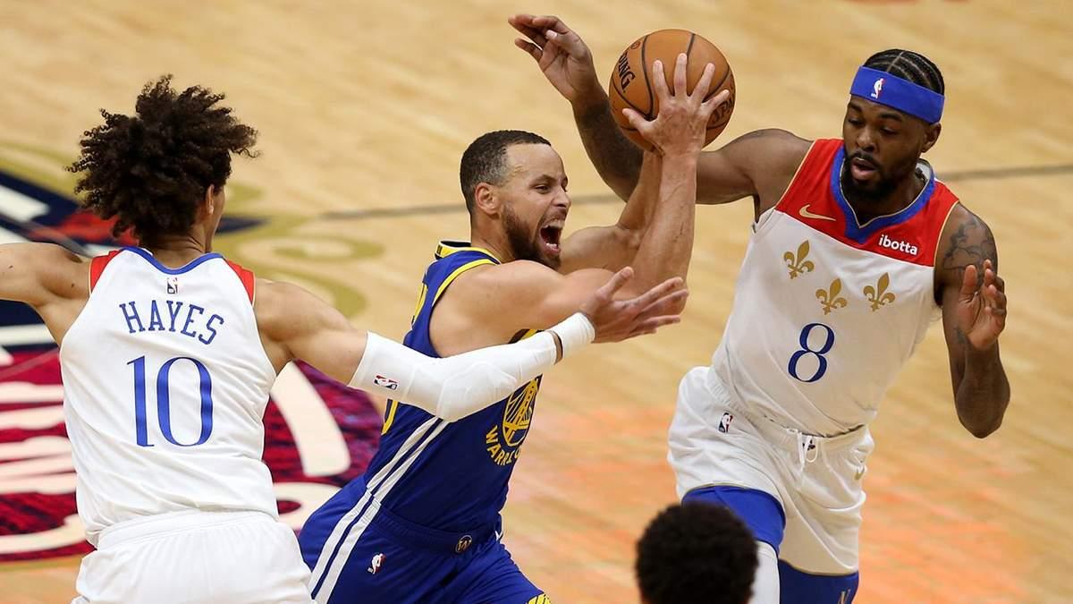 Під час триочкового кидка в матчі НБА в залі погасло світло: команда у підсумку програла – відео