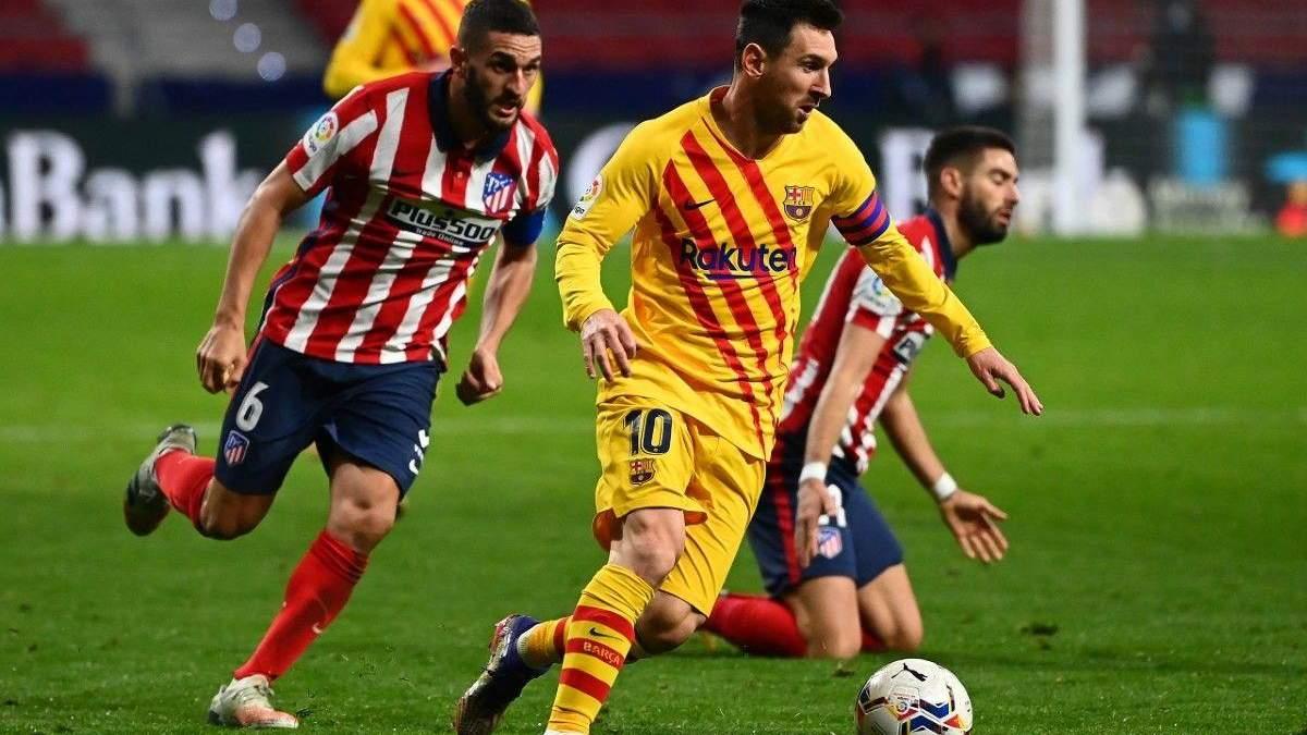 Барселона – Атлетико результат и видео голов 8 мая 2021