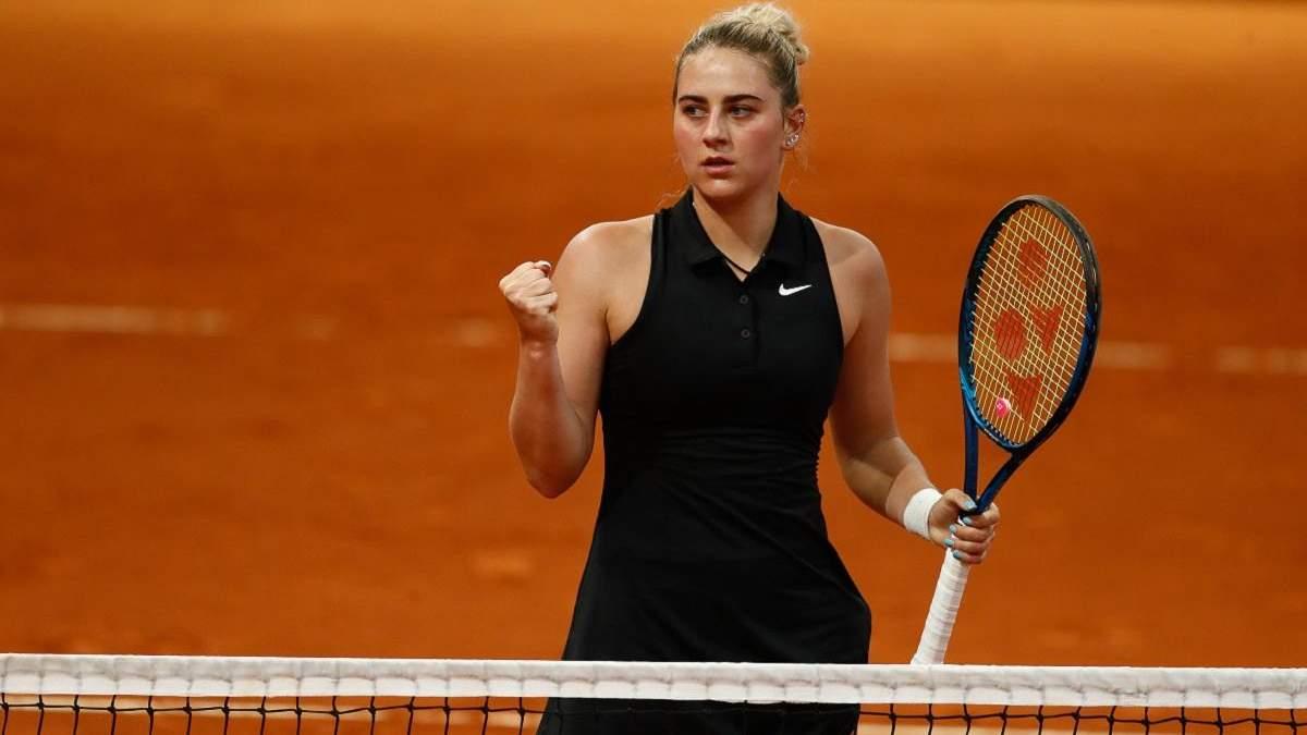 Нурия Бранкаччо – Марта Костюк: результат матча турнира WTA