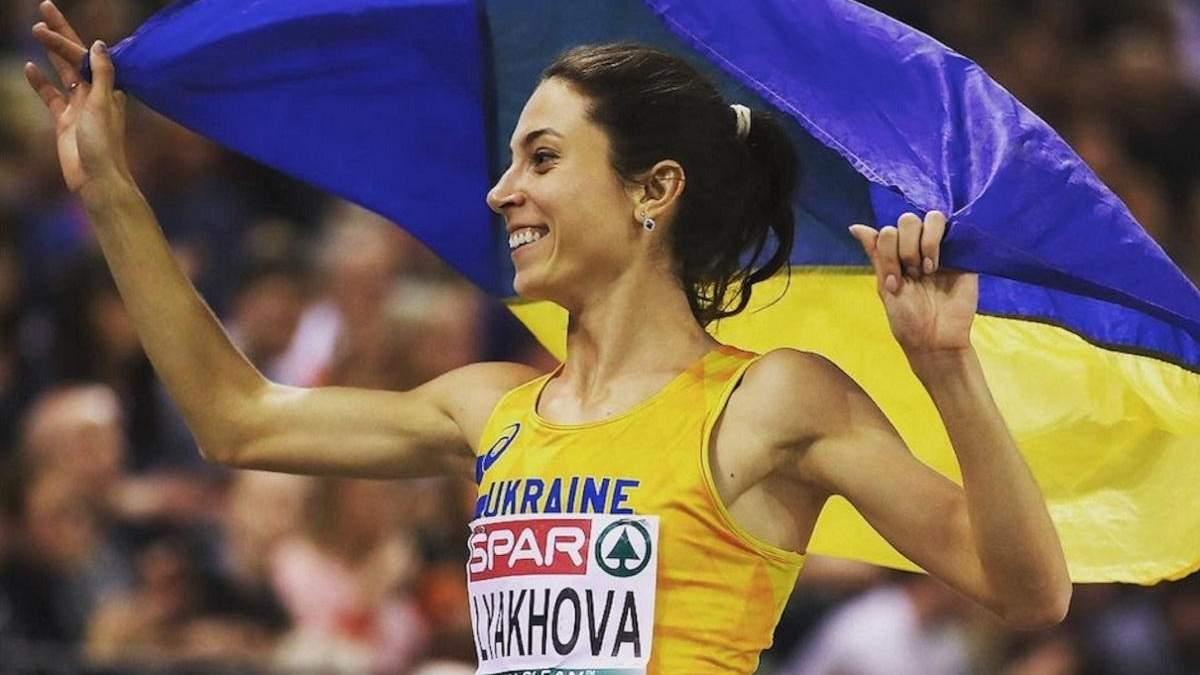 Украинская легкоатлетка Ольга Ляхова стала мамой