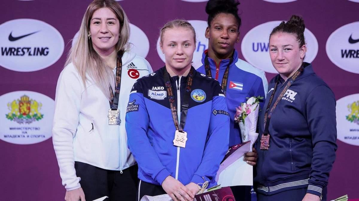 Борцы завоевали три медали в Болгарии, Белинская – чемпионка
