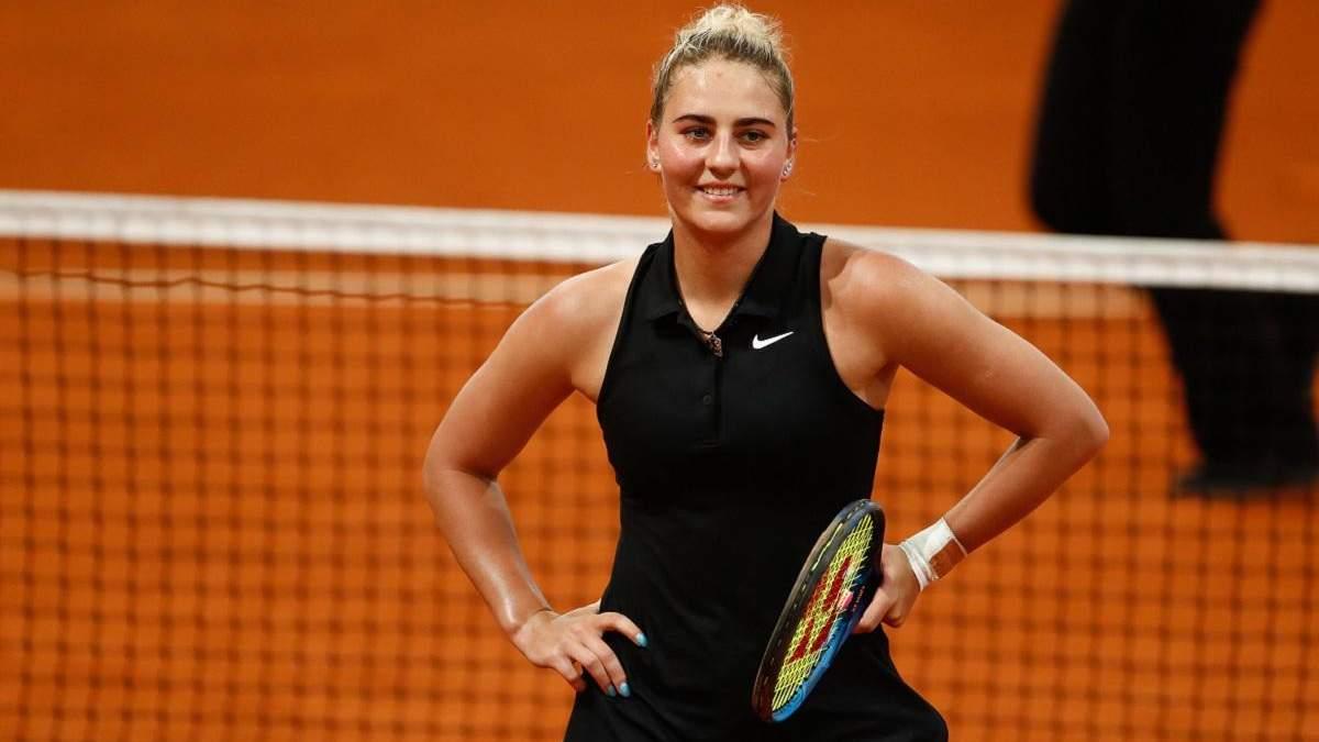 Нао Хибино – Марта Костюк: результат матча турнира WTA