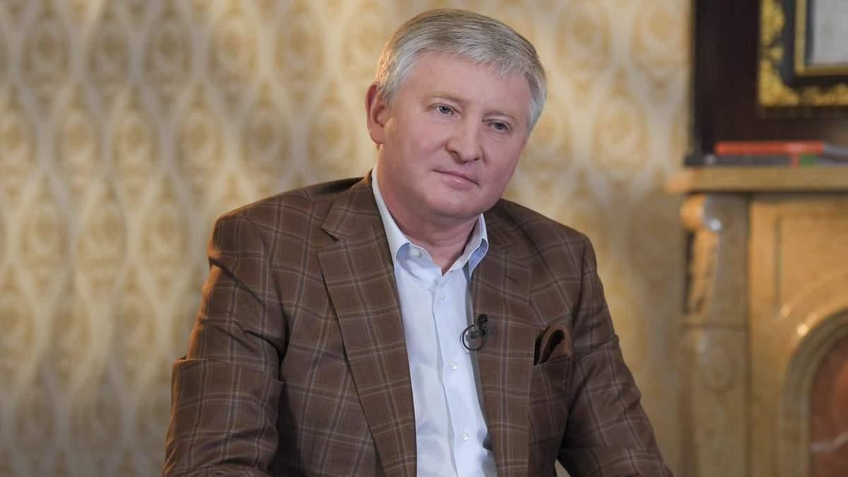 Интервью Рината Ахметова о Шахтер и чемпионстве Динамо