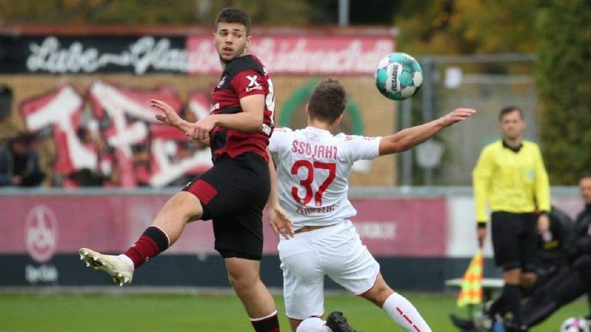 Эрик Шуранов забил третий гол в немецкой Бундеслиге - видео