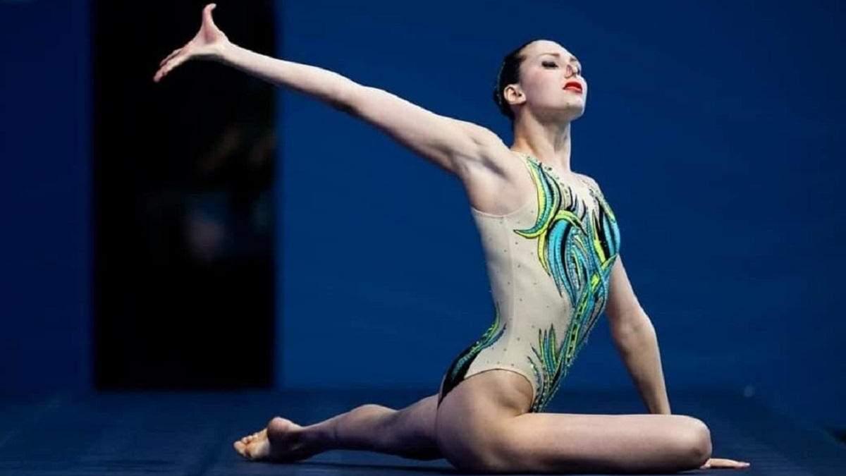 Украинская синхронистка Федина получила вторую медаль на Евро