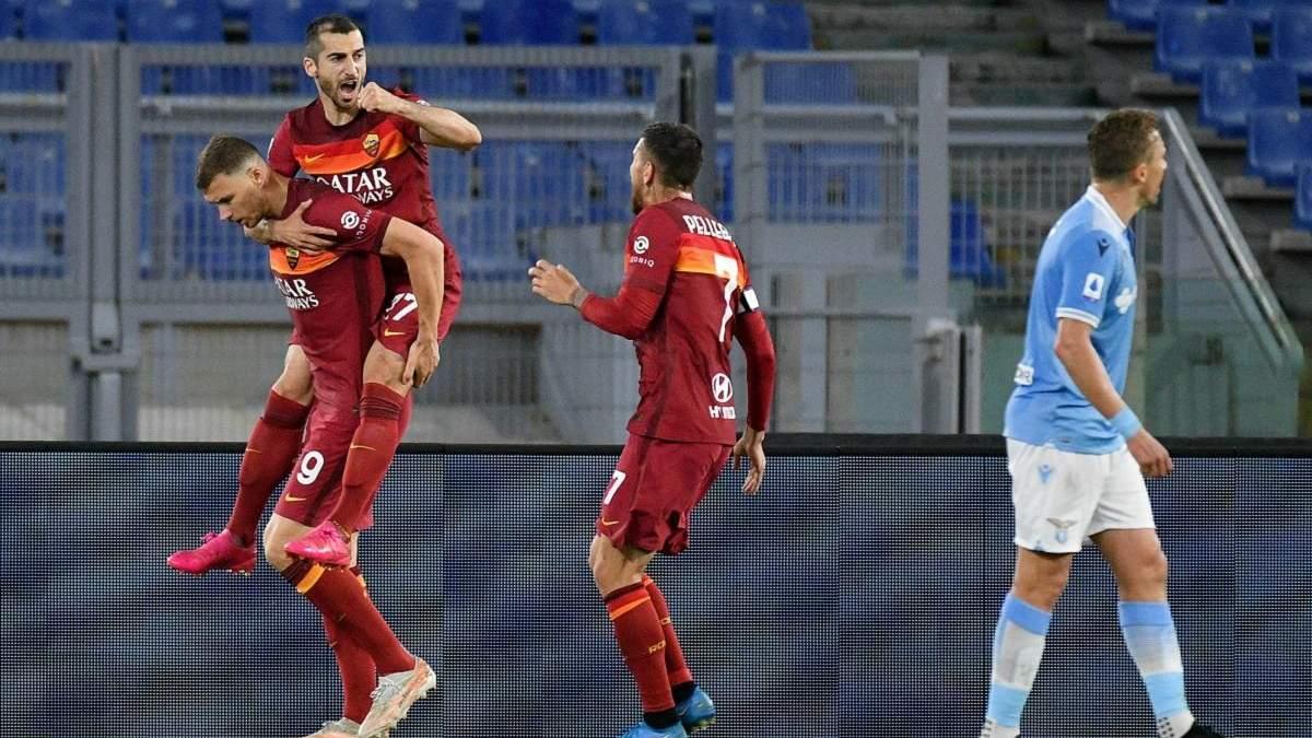Рома – Лаціо результат і відео голів 15 травня 2021