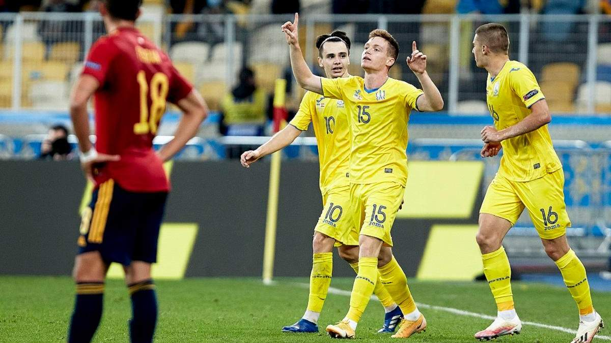 Цыганков вернулся в общую группу сборной Украины