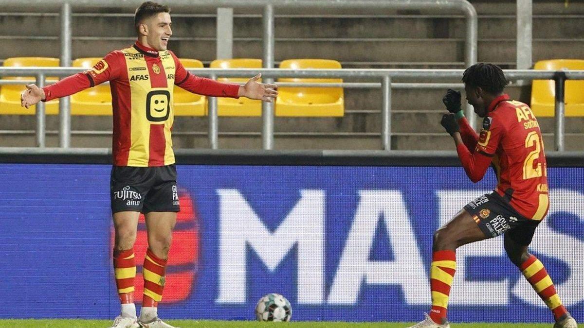 Марьян Швед забил гол в матче Мехелен - Стандард: видео